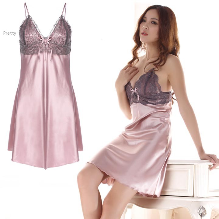 Sexy satin nightgowns