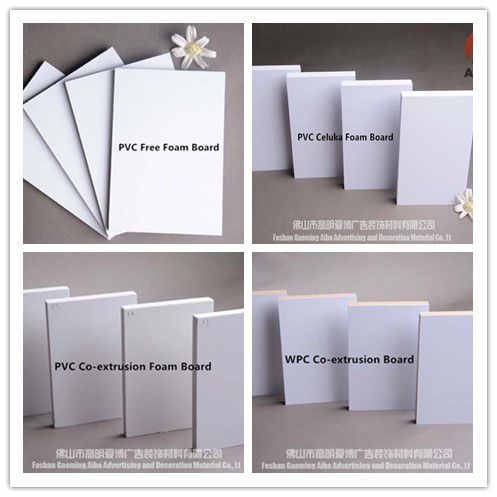 White color factory outlet PVC Foam Board sell directly online.