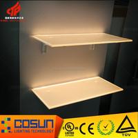 UL acrylic sheet LED edge lighted beer bar counter display board
