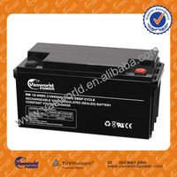 ups power battery wholesale 12v 65ah AGM lead acid battery price