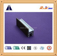ASA 60 casement series window frame pvc profile with good noise Resistance performance