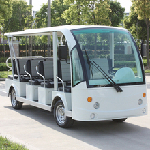 14 seat electric mini travel bus DN-14 with CE Certificate