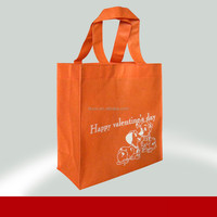 High quality eco promotional tote bag 100% manufacturer cute animal non woven bag