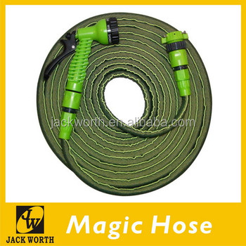 Patented garden tool magic expandable water hose