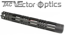 Vector Optics SAIGA 12 Shotgun S12 Ga. Barrel Shroud Mount w/ Sharp Teeth