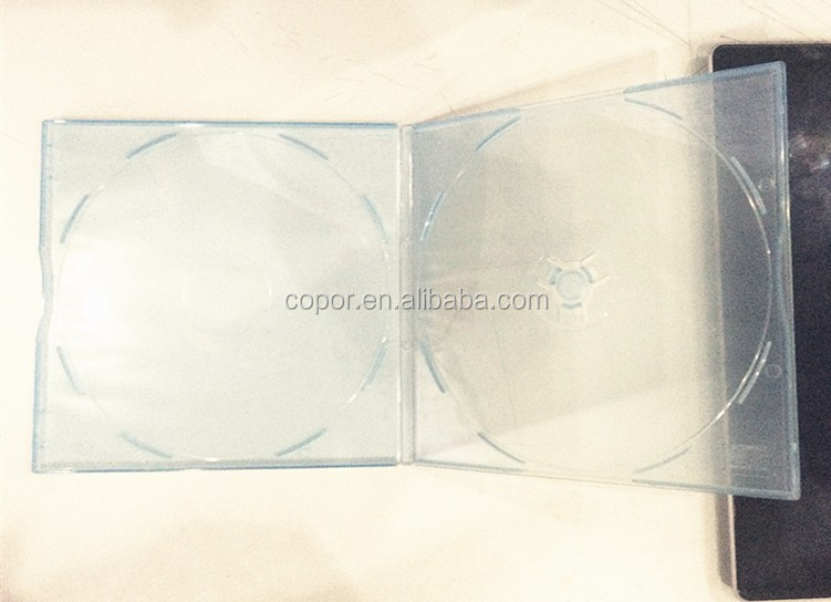 5.2mm thickness super transparent clear cd dvd pp case