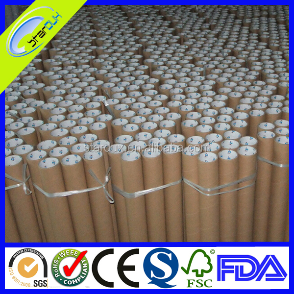 Fabric round cardboard paper tubes
