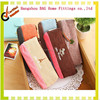 High quality fashionable linen pencil bags factory manufacture