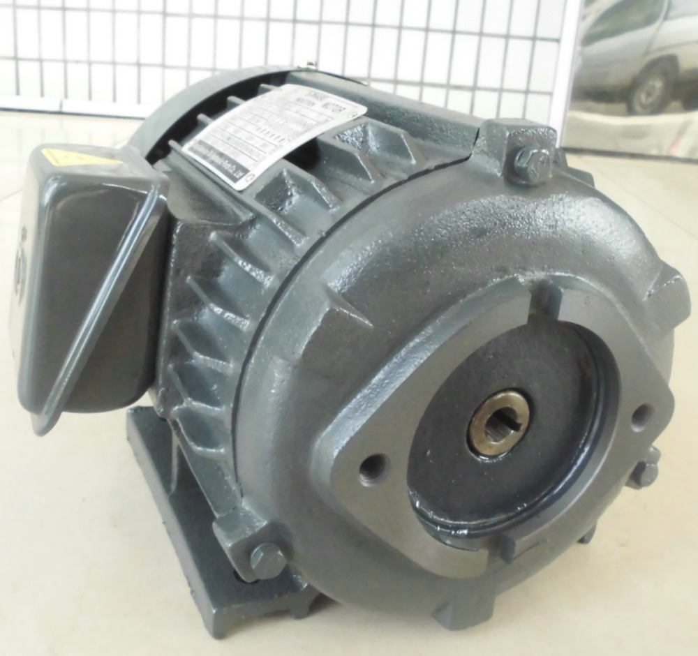 Single phase asynchronous electric motor for Hydraulic Machines