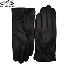 Wholesale driving leather gloves for men to keep warm