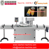 Rotary Type Automatic Diameter Fixed can seamer for canning