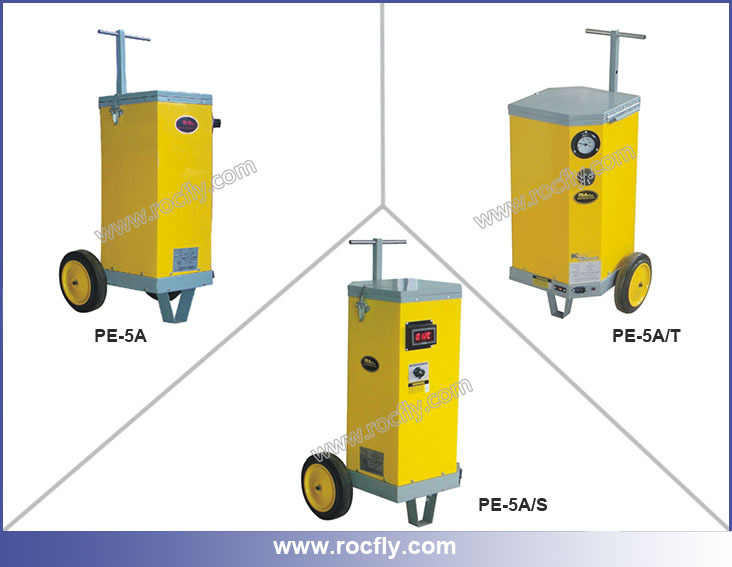 PE-5A/S Portable Welding Rod Ovens With Wheels /Pull Handle and with Digital Thermometer