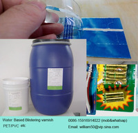 PET blister pack varnish, high quality, environment friendly