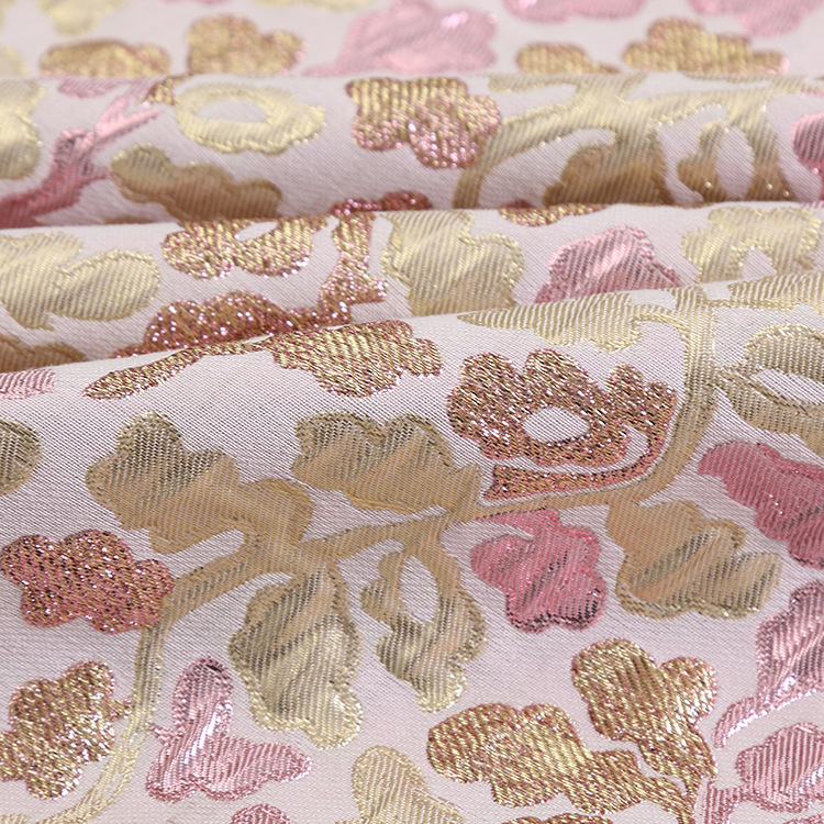 Hot Sale Popular Floral Jacquard <strong>Fabric</strong>