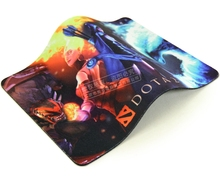 OEM/ ODM acceptable nice charming printing different kinds of game mouse pad, paypal payment accept