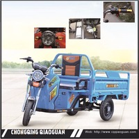 High Quality OEM 60V 800w-1800w Electric Cargo Tricycle 3 wheel motorcycle from Max SW Chn Factory