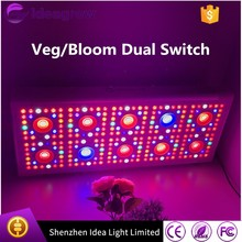 Ideagrow 200W to 2000W Veg Bloom Double Switches Full Spectrum LED Grow Lights