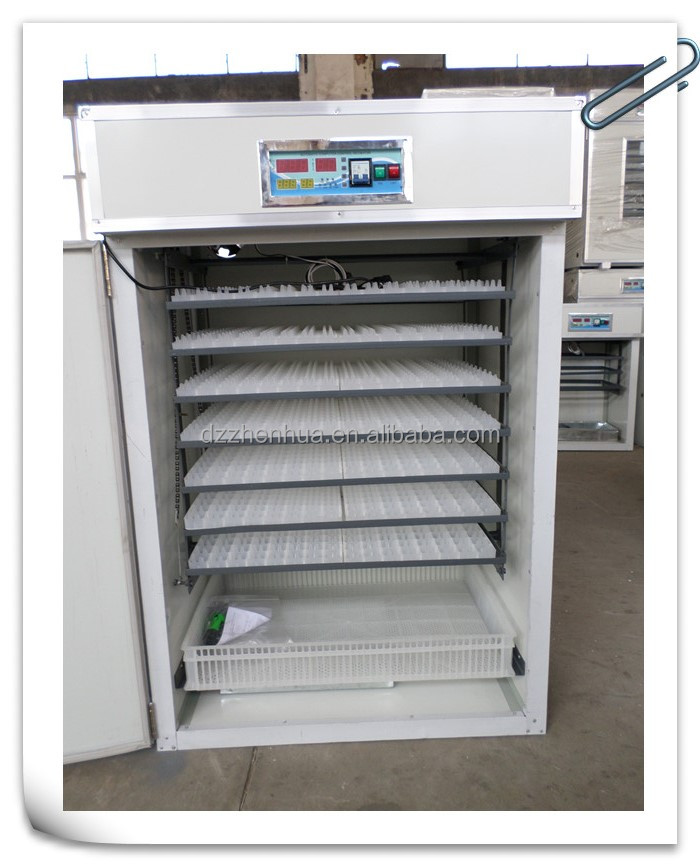 Hot Selling Fully Automatic 1000 eggs Capacity Chicken Hatchery Machine 1232 Egg Incubator
