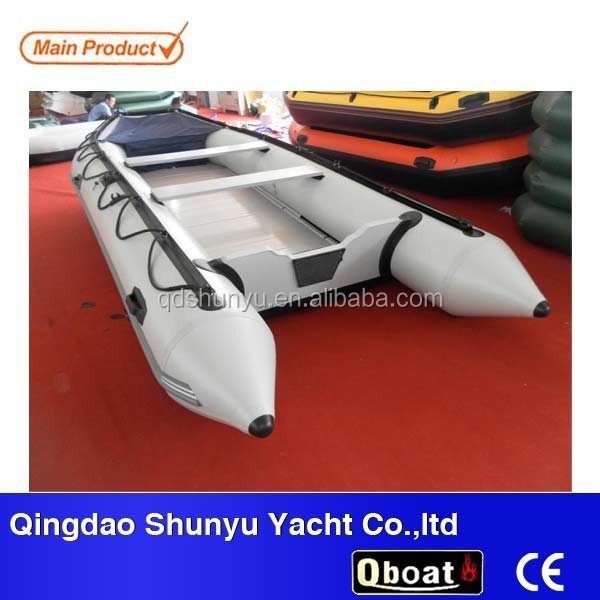 CE 10 passengers folding inflatable rubber motor boat for sale