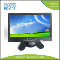 7 inch lcd monitor 10 inch tft lcd car tv monitor rearview mirror car monitor with 7 tft lcd
