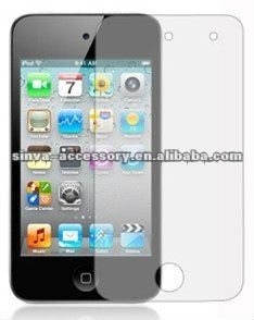 Anti-fingerprint screen protector for ipod touch 4 Galaxy s3 and note