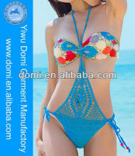 Handmade Sexy Lady Bikini Cover Up Girls Hot Sexi Image Crochet Beach Swimsuit Monokini One Piece
