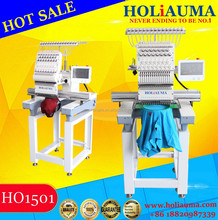 2017 HOLiAUMA 1501 single head commercial computer embroidery machine cap t-shirt sequin cording single head embroidery machines