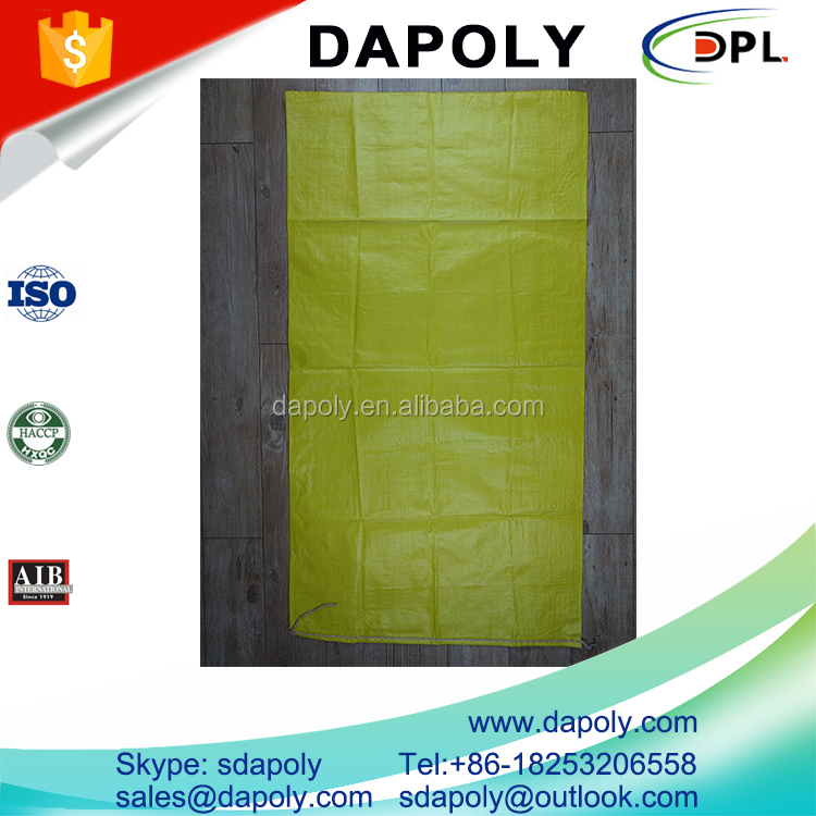 lowest cheap price strong quality disposable packing building material construction waste garbage recycled pp woven bag