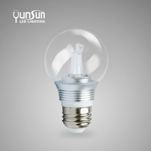 CE/RoHs listed Singapore, 2W, 3W led candle bulb in ceramic house, super bright, 110Lm/W, E14 /skd led bulb parts