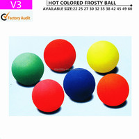 YIWU rubber monochromatic ball