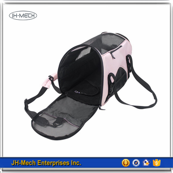 Foldable best sale pet travel carrier pet bag carrier for dog and cat