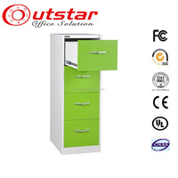 Office Furniture Vertical A4 Godrej 4 Drawer Storage Steel Filing Cabinet