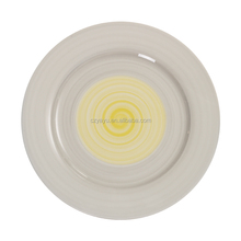 10 inch two tone color glazed cheap wedding charger plates wholesale canada