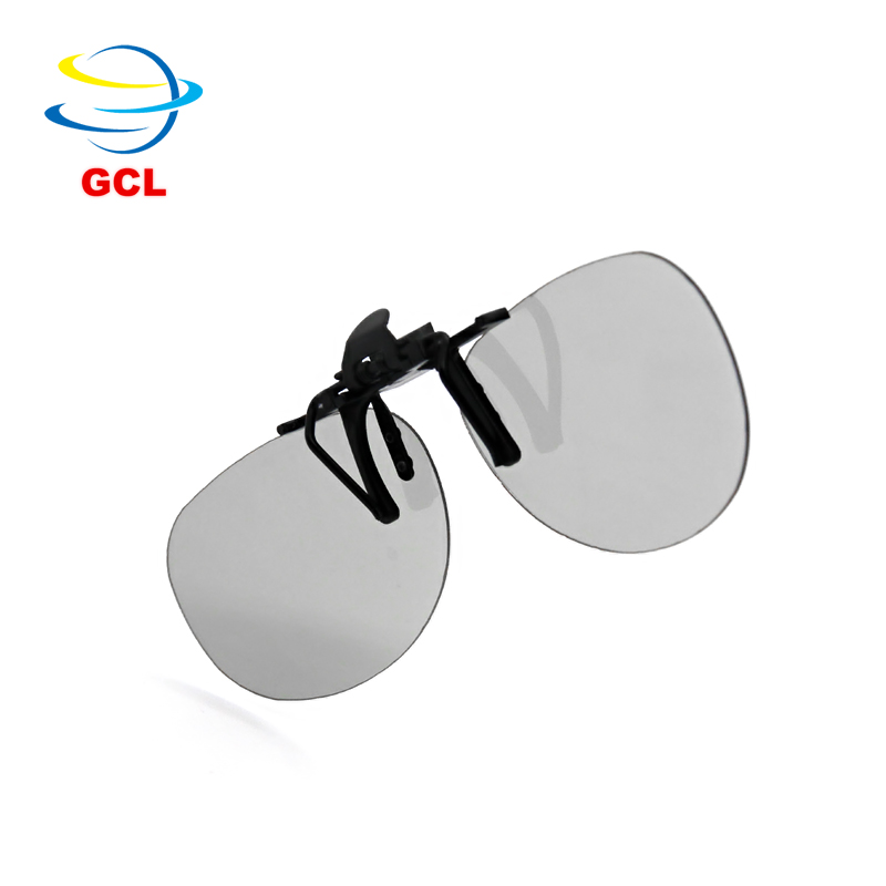 China inch virtual screen eyewear video glasses 3d glasses clip for 3d polarizer cinema