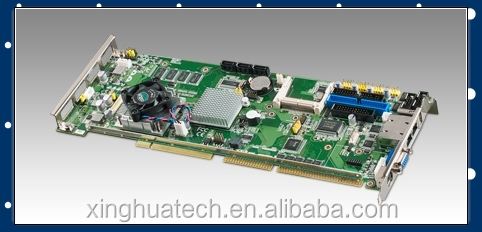 Advantech industrial chassis circult board PCA-6013VG-00A1E Intel Atom N455/D525 SBC with Anti-surge LAN/COM