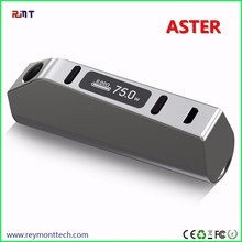 Alibaba Express 100% Original Eleaf Aster 75w Box Mod Temperature Control Fit TFV8 Baby Tank