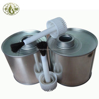 Screw top tin cans,500g pvc cement can