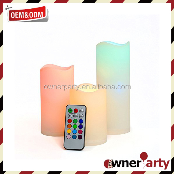 Party Products Electric LED Candles Scented Wholesale