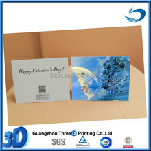 Deep 3d effect lenticular greeting card factory price