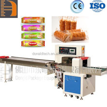 Foshan High Speed Automatic Wrapping Packing Machine for Bread stick, Chocolate bar