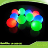 Newest High quality golf ball flashing golf ball luminous golf ball