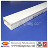 PVC Flame-Resisting rigid plastic cable management raceway for wall