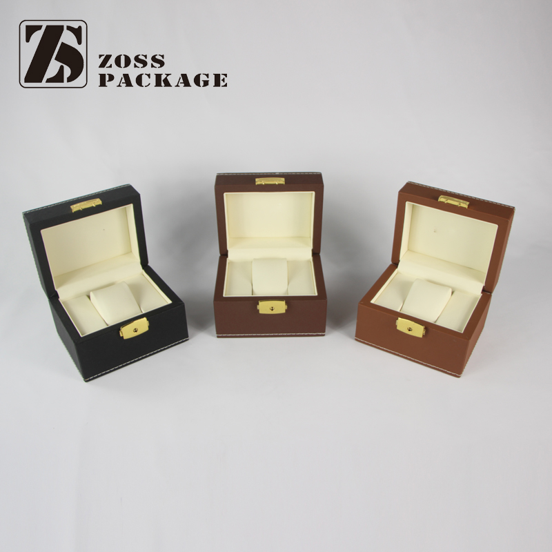 alibaba china supplier custom single wooden watch box