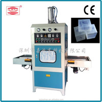 soft crease folding boxes radio frequancy welding and cutting machine