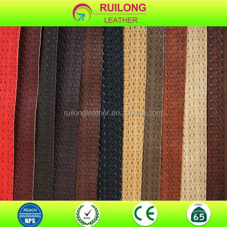 cotton fabric roll high quality polyurethane leather for winter shoe and mens bag