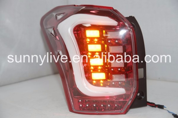 2013-2015 Year for Subaru Forester LED Strip Rear Light TW red white