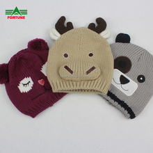 Fashionable Kids Winter Knitted Beanie Hat For Children
