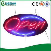 High guarantee Hot sale Hildy led neon open sign led advertising board(HSO066)