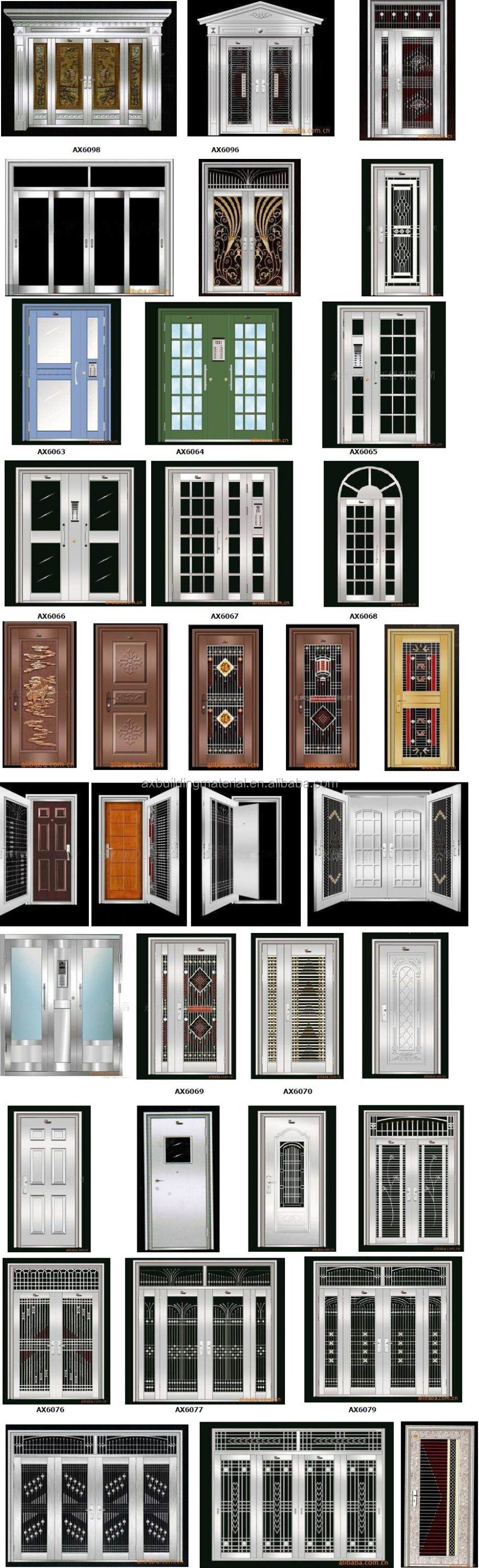 Best Quality International Standard Stainless Steel Door