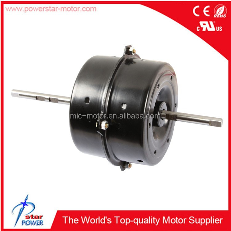 Double Shaft Air Conditioner Indoor Fan Motor Made in China